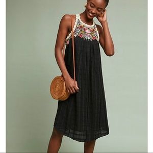 Anthropologie Akemi+Kin Mosley Embroidered Dress